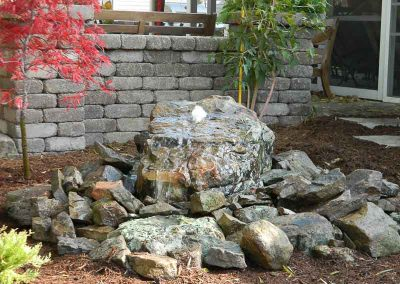 Knob Hill Landscape Company Water Feature